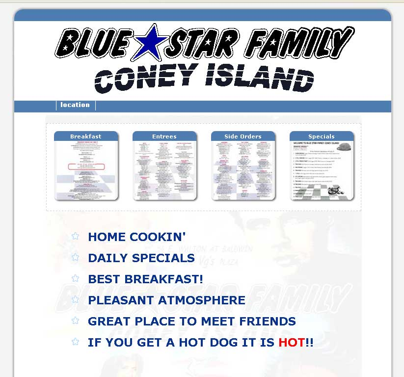 Bluestar Family Coney